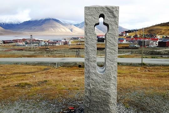 Longyearbyen - pohled od kostela (foto ZL)